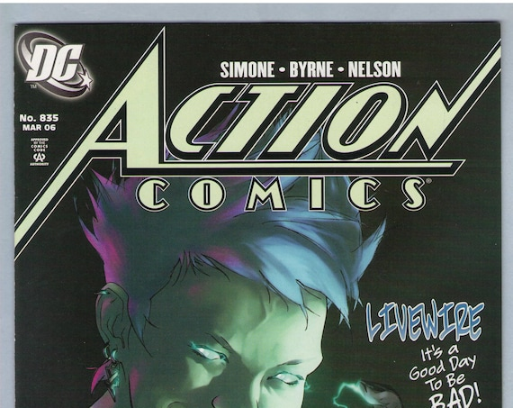 Action Comics 835 Mar 2006 NM- (9.2)