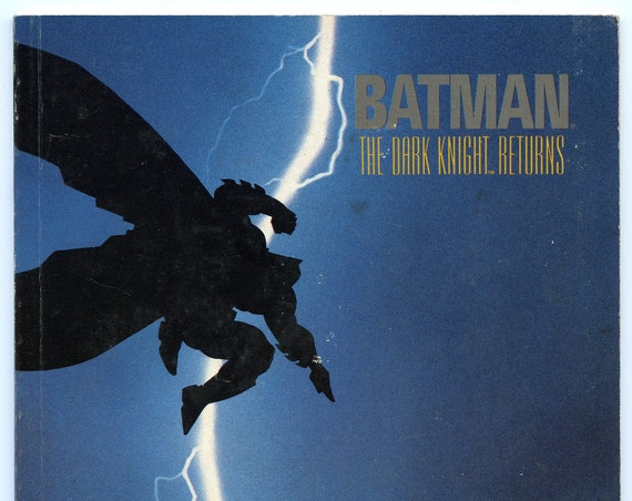 Batman The Dark Knight 1 Mar 1986 VG-FI (5.0) (3rd print)