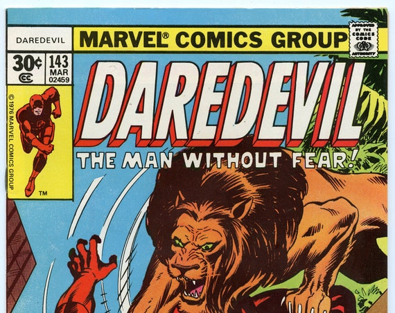 Daredevil 143 Mar 1977 FI+ (6.5)