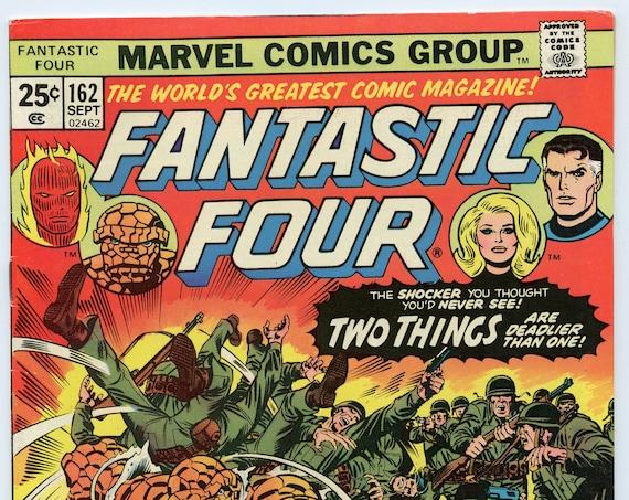 Fantastic Four 162 Sep 1975 VF- (7.5)