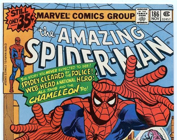 Amazing Spider-man 186 Nov 1978 VF-NM (9.0)