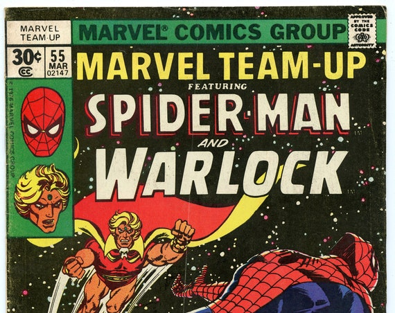 Marvel Team-Up 55 Mar 1977 VG+ (4.5)