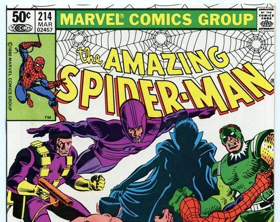 Amazing Spider-man 214 Mar 1981 NM- (9.2)