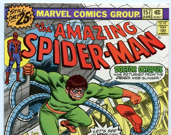 Amazing Spider-man 157 Jun 1976 VF-NM (9.0)
