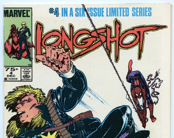 Longshot 4 Dec 1985 VF (8.0)