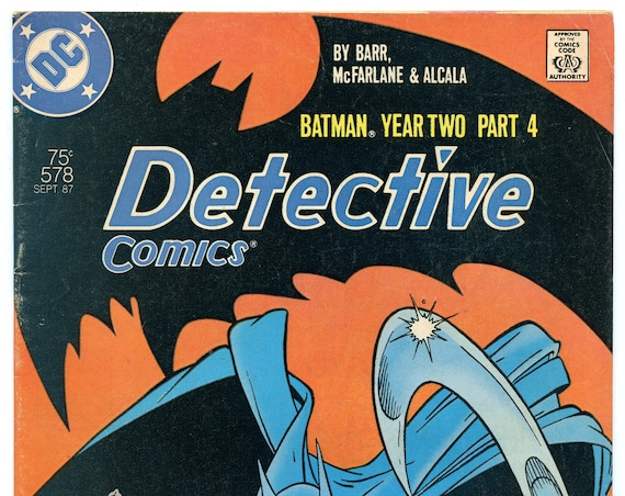 Detective Comics 578 Sep 1987 VG+ (4.5)
