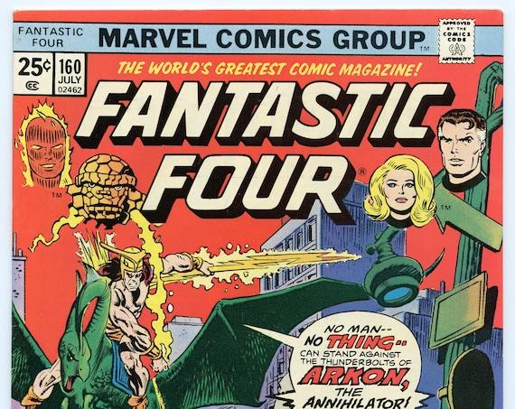 Fantastic Four 160 Jul 1975 VF+ (8.5)