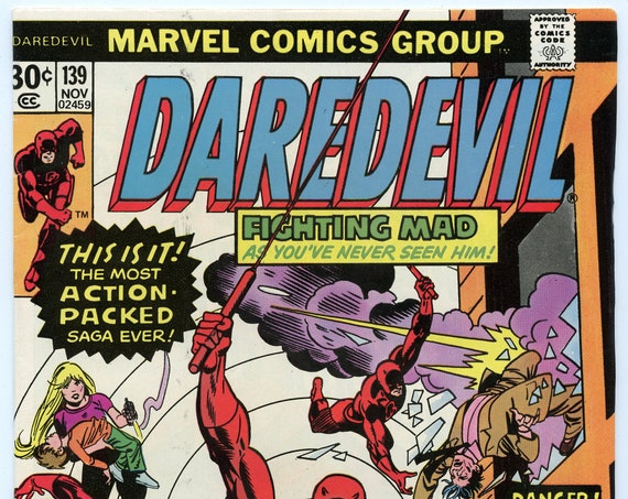 Daredevil 139 Nov 1976 FI (6.0)
