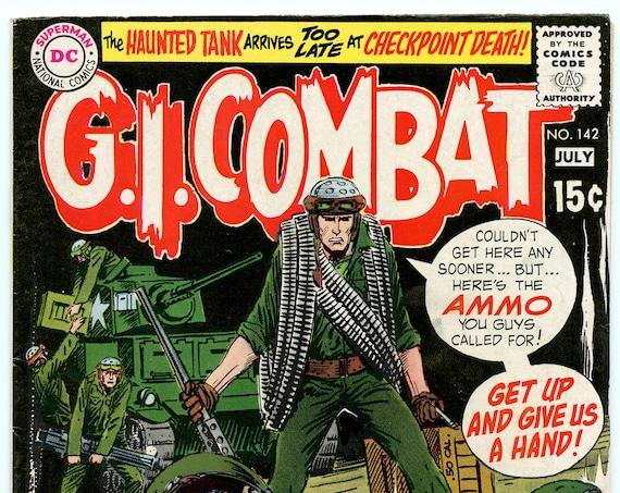 GI Combat 142 Jul 1970 FI- (5.5)