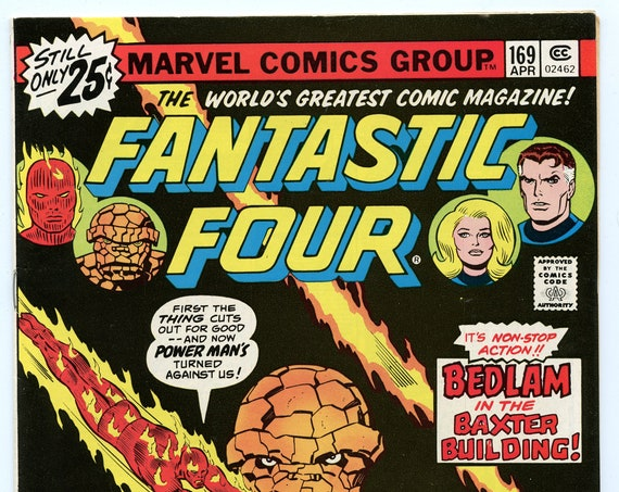 Fantastic Four 169 Apr 1976 VF (8.0)