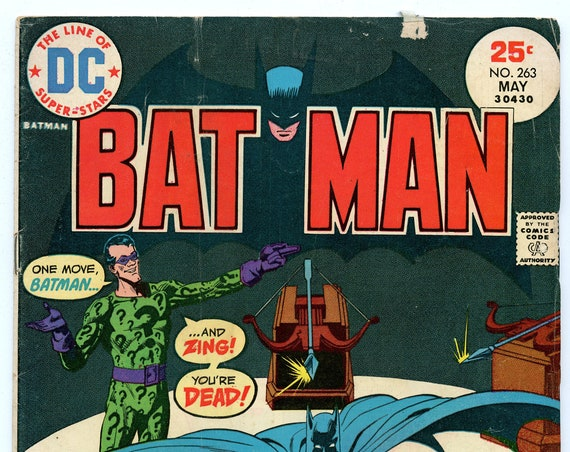 Batman 263 May 1975 VG (4.0)