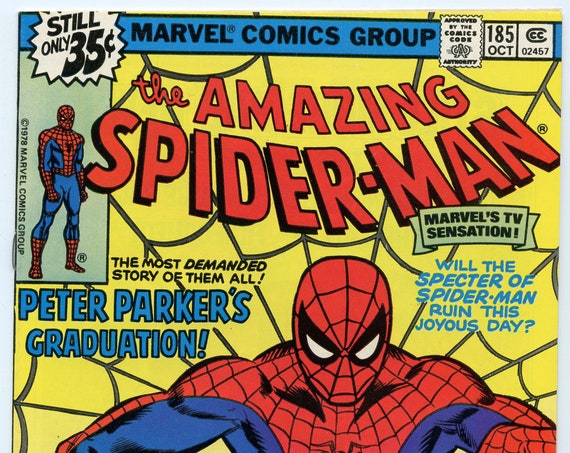 Amazing Spider-man 185 Oct 1978 VF+ (8.5)