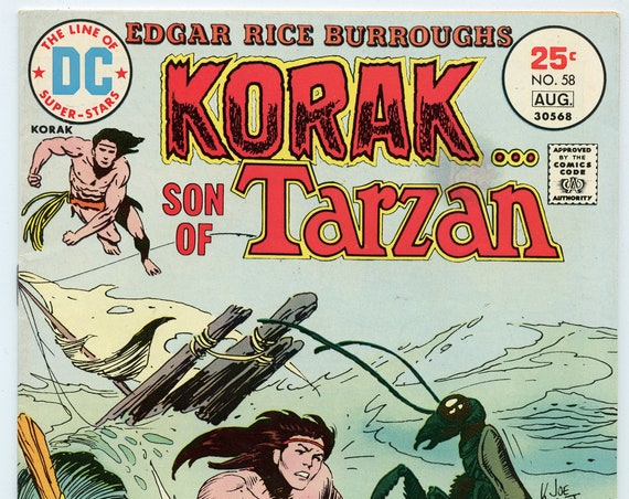 Korak Son of Tarzan 58 Aug 1975 FI-VF (7.0)