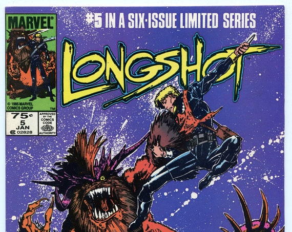 Longshot 5 Jan 1986 VF (8.0)