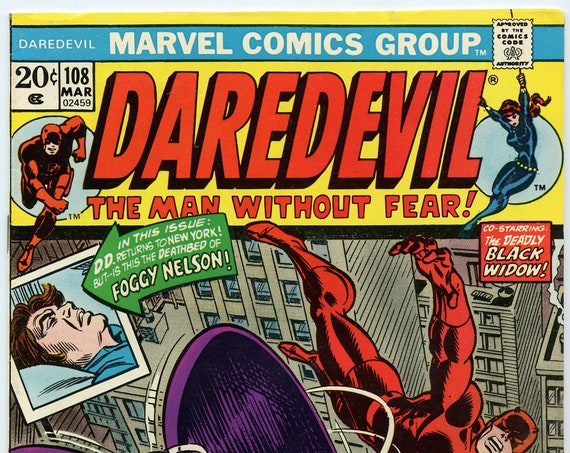 Daredevil 108 Mar 1974 FI- (5.5)