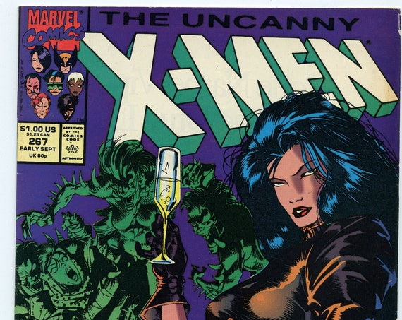X-Men 267 Sep 1990 VF- (7.5)