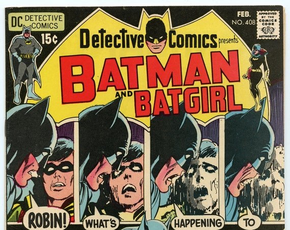 Detective Comics 408 Feb 1971 VF+ (8.5)