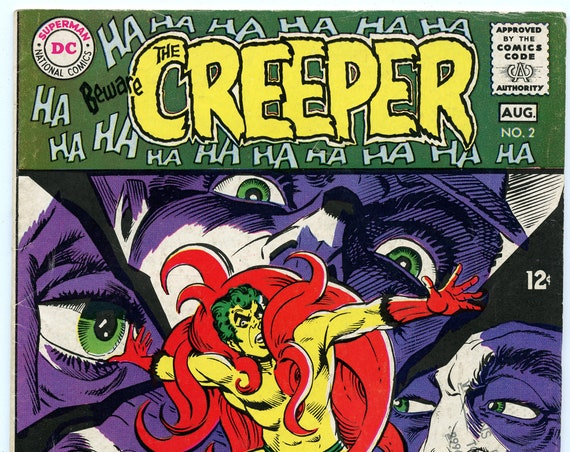 Beware the Creeper 2 Aug 1968 VG+ (4.5)