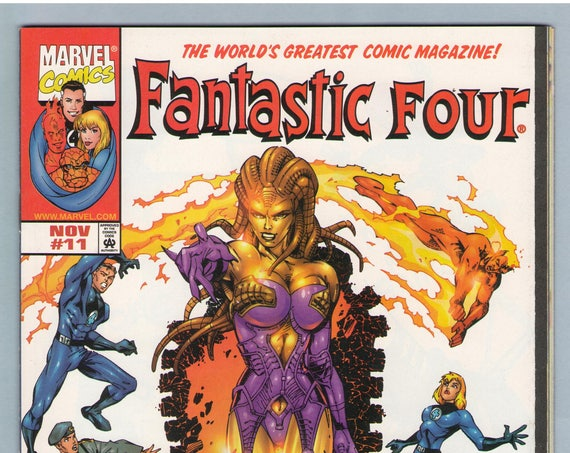 Fantastic Four V3 11 Nov 1998 NM- (9.2)