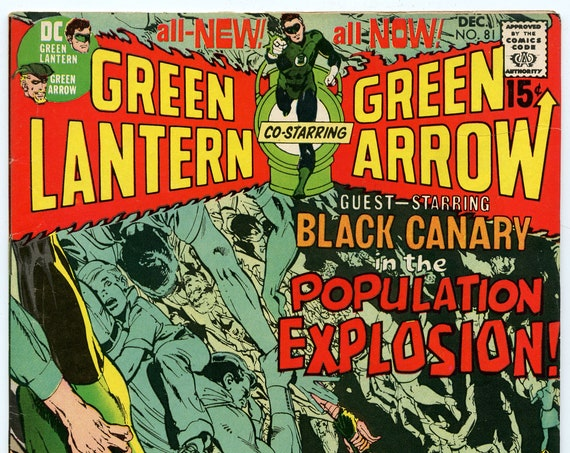 Green Lantern 81 Dec 1970 FI-VF (7.0)
