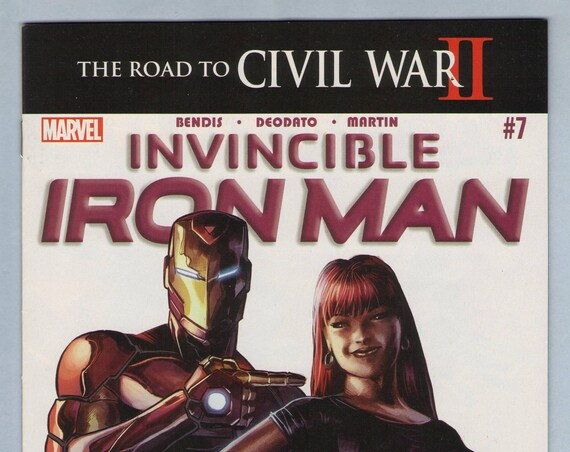 Invincible Iron Man V2 7 May 2016 NM- (9.2)