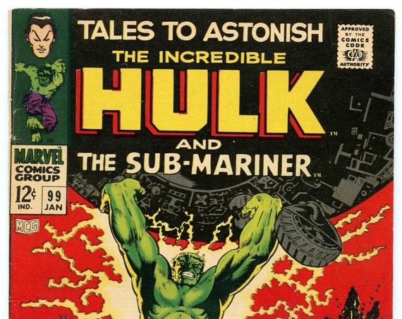 Tales to Astonish 99 Jan 1968 FI- (5.5)
