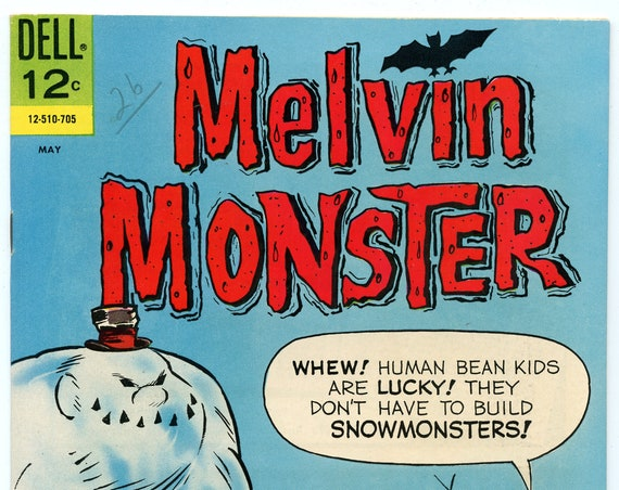 Melvin Monster 8 May 1967 VF-NM (9.0)