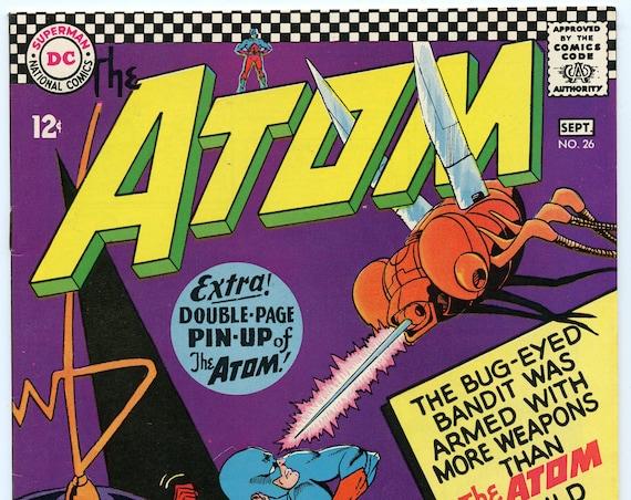 Atom 26 Sep 1966 VF+ (8.5)