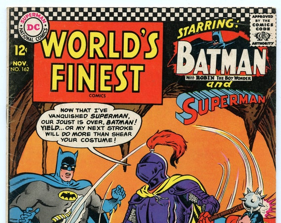 World's Finest 162 Nov 1966 VG+ (4.5)
