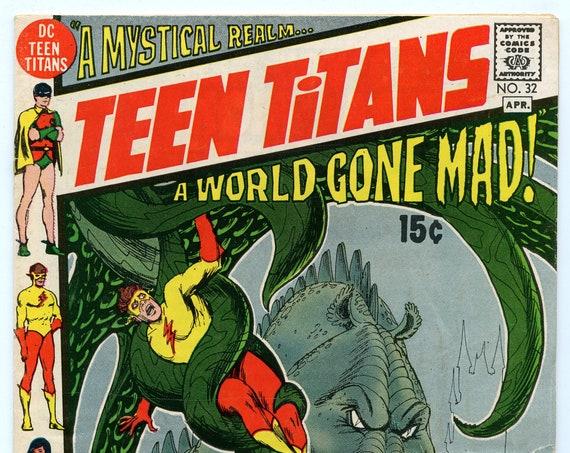 Teen Titans 32 Apr 1971 VG (4.0)