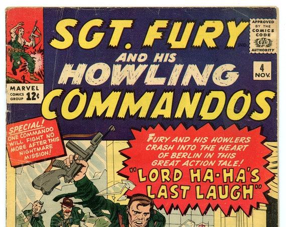Sgt. Fury 4 Nov 1963 GD+ (2.5)