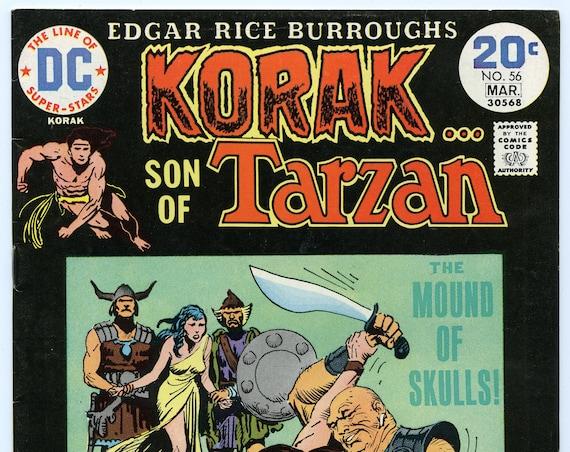 Korak Son of Tarzan 56 Mar 1974 VF- (7.5)