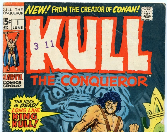 Kull the Conqueror 1 Jun 1971 VG (4.0)