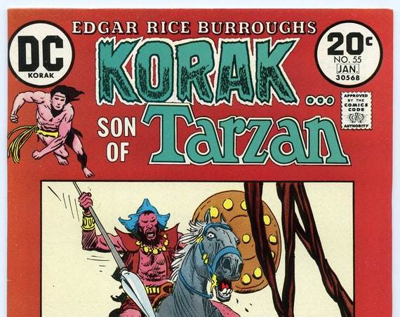 Korak Son of Tarzan 55 Jan 1974 VF-NM (9.0)