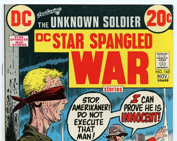 Star Spangled War Stories 165 Nov 1972 FI (6.0)