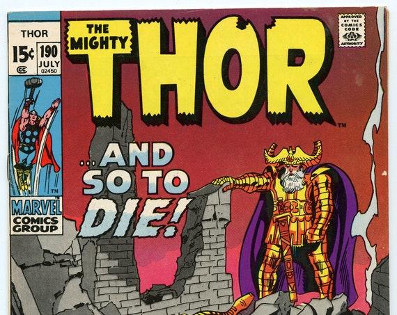 Thor 190 Jul 1971 VF-NM (9.0)