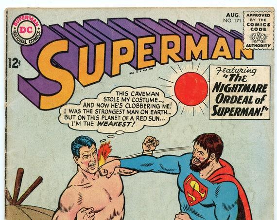 Superman 171 Aug 1964 VG (4.0)