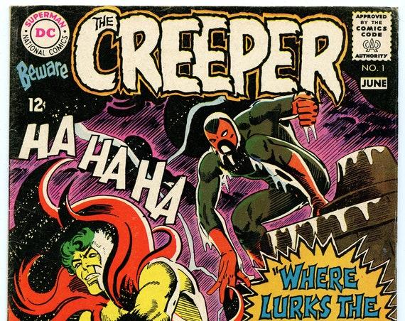 Beware the Creeper 1 Jun 1968 VG+ (4.5)