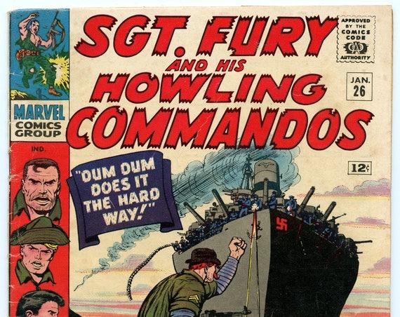 Sgt. Fury 26 Jan 1966 VG- (3.5)