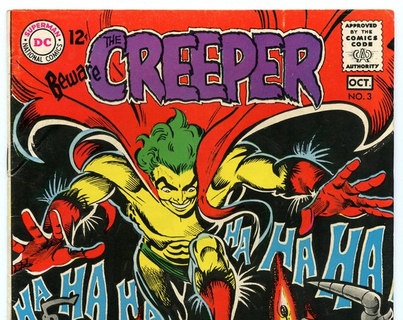 Beware the Creeper 3 Oct 1968 VG-FI (5.0)