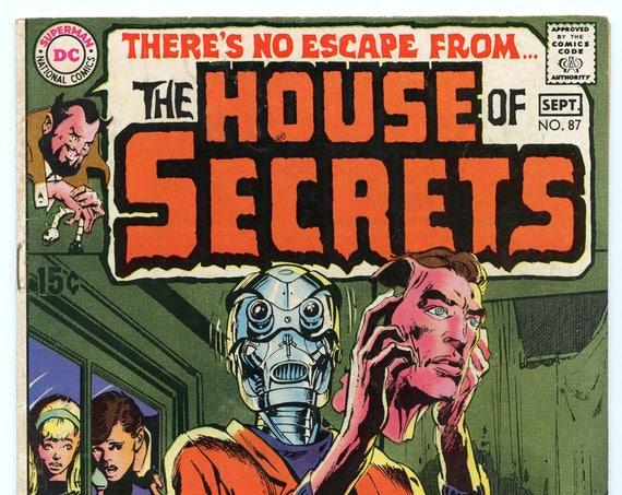 House of Secrets 87 Sep 1970 VG-FI (5.0)