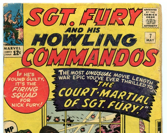 Sgt. Fury 7 May 1964 GD-VG (3.0)
