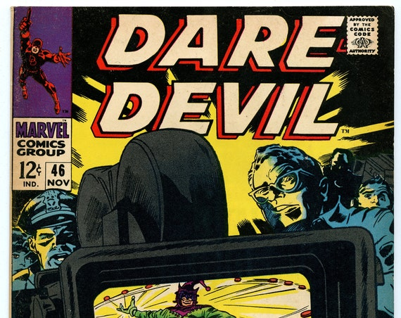 Daredevil 46 Nov 1968 FI-VF (7.0)