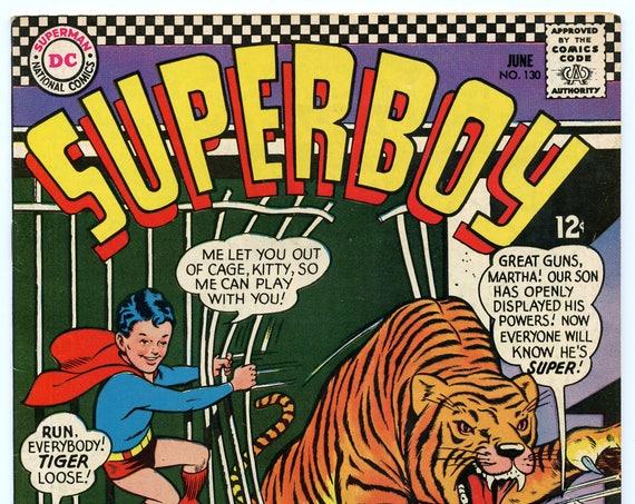 Superboy 130 Jun 1966 FI (6.0)