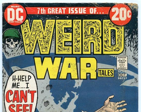 Weird War Tales 7 Oct 1972 VG- (3.5)