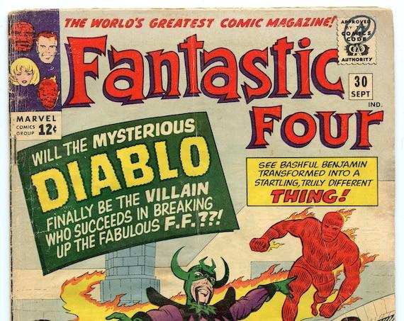 Fantastic Four 30 Sep 1964 GD-VG (3.0)