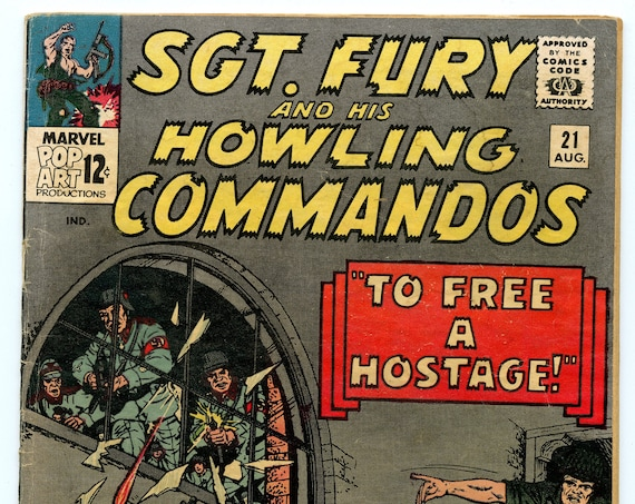 Sgt. Fury 21 Aug 1965 VG- (3.5)