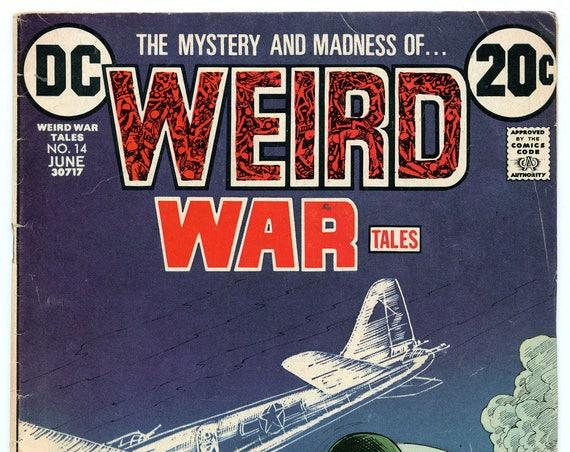 Weird War Tales 14 Jun 1973 VG (4.0)