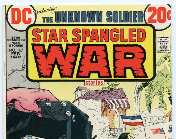Star Spangled War Stories 167 Feb 1973 FI+ (6.5)