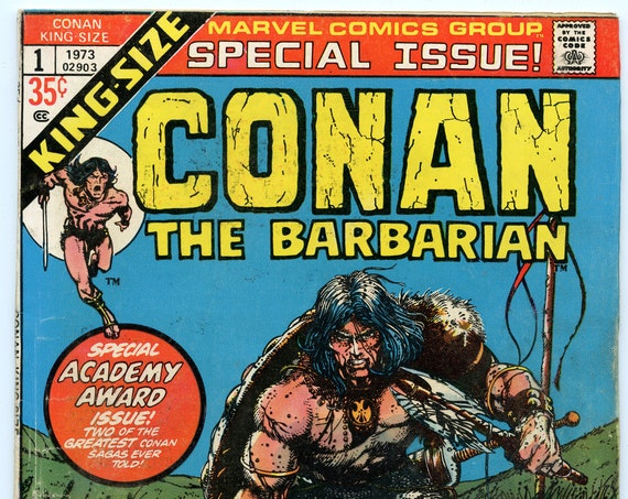 Conan the Barbarian King-Size 1 Sep 1973 VG (4.0)